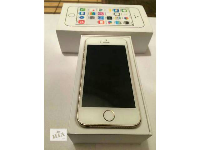 купить бу Iphone 5s gold 16Gb  в Львове