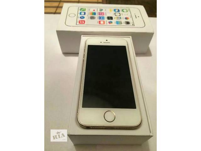 продам Iphone 5s gold 16Gb  бу в Львове