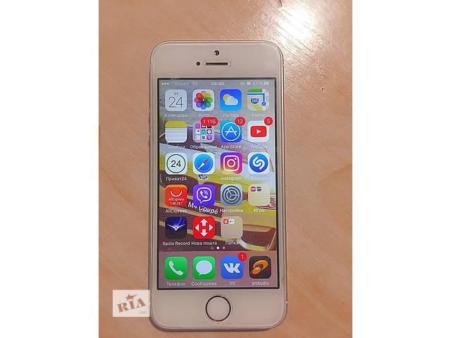 купить бу iPhone  5S Gold 16GB в Кропивницком (Кировограде)
