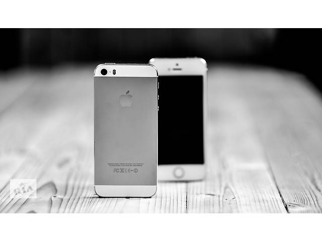 купить бу iPhone 5S Neverlock Silver в Одессе