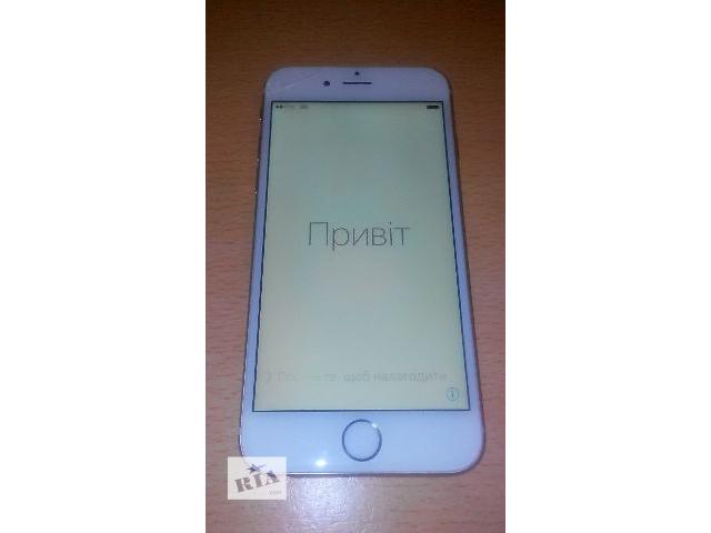 Iphone 6 16 GB Gold neverlock  iCloud.- объявление о продаже  в Черновцах
