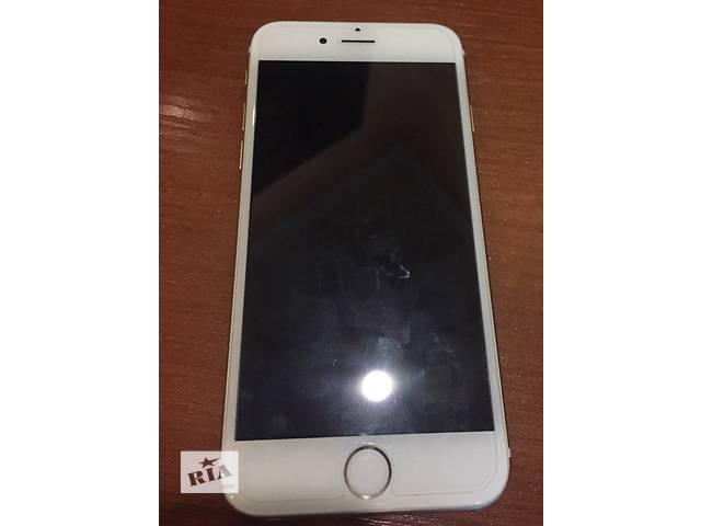 продам iPhone 6 gold neverlock  бу в Киеве