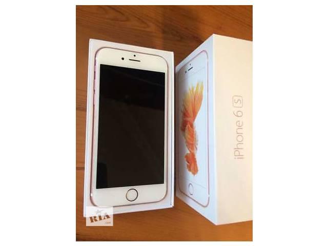 бу  iPhone 6s 64Gb Rose Gold Neverlock в Луганске
