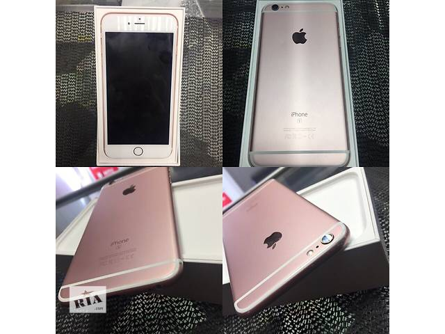 купить бу iPhone 6s plus 64 gb Rose Gold в Киеве
