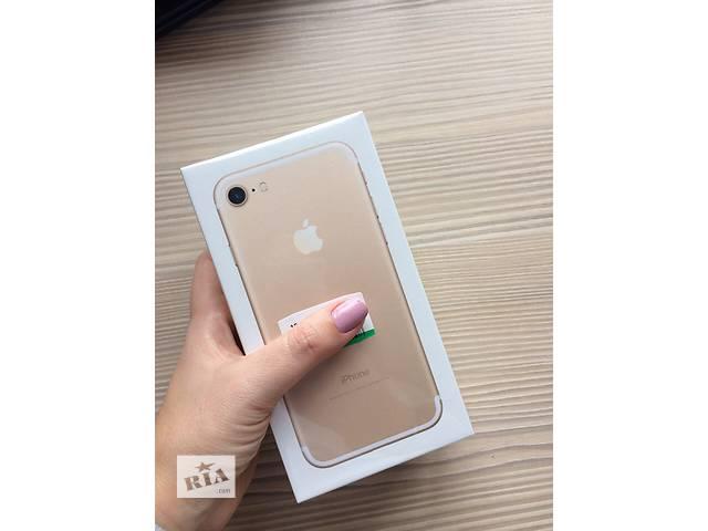 Iphone 7 128Gb Gold NEW- объявление о продаже  в Львове