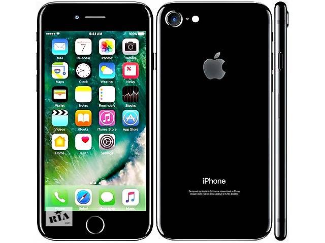 iPhone 7. 4 Гб/1 Гб, 8 Мп, 6 яд, 4,7«. Тайвань.Черный,Золотой- объявление о продаже  в Одессе