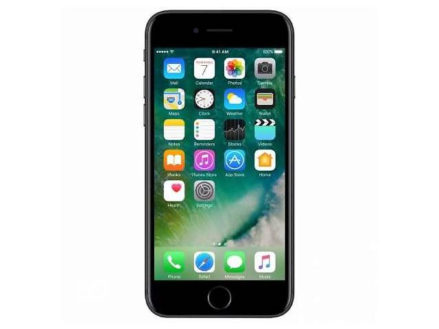 купить бу IPhone 7 Apple 32 GB (Black). Айфон 7. Интернет магазин в Киеве