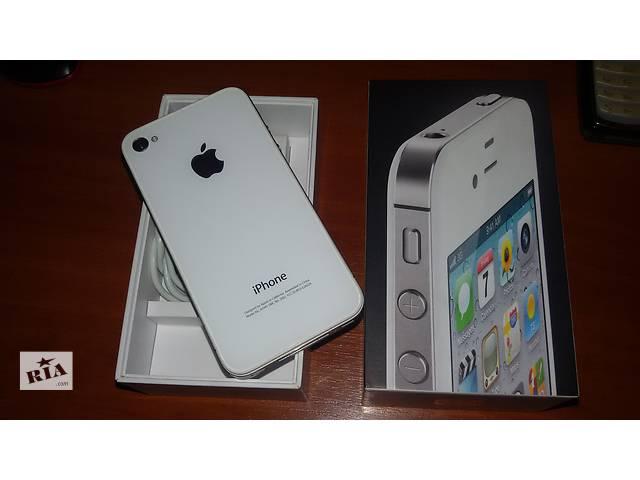 купить бу IPhone4(CDMA)на8,16,ГБ,БЕСПЛАТНЫЕ ЗВОНКИ и 3G ИНТЕРНЕТ+100 грн на счет в Киеве