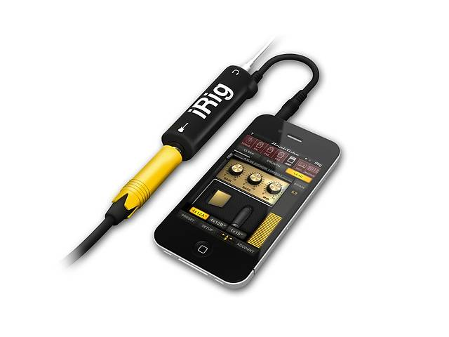 бу IRig соеденительный кабель гитары и iPhone, iPad  в Бершади