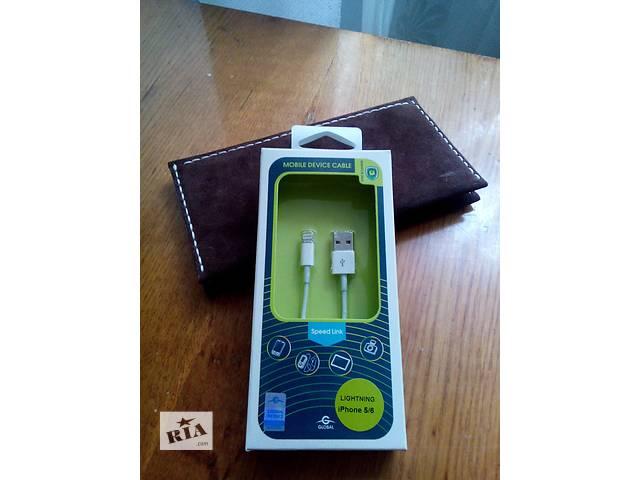 бу Кабель Lightning (Iphone 5/5s/6/6s) charge/sync cable 1m. White в Хмельницком