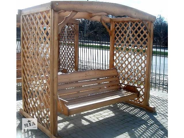 купить бу Садовая мебель, декор Качели для сада большие в Виннице