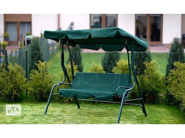 купить бу Качеля садовая Relax 3-х местная 180 см. в Запорожье