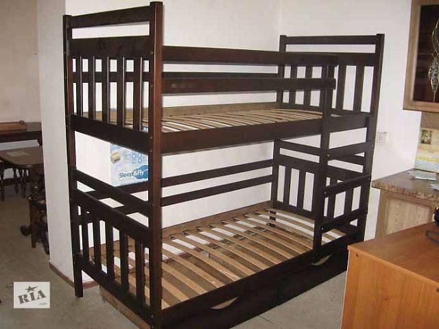 Качественная двухъярусная кровать-трансформер Колобок Полулюкс- объявление о продаже  в Киеве