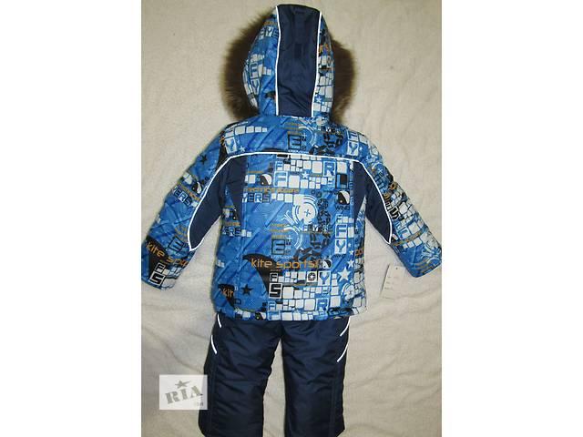 продам Качественная зимняя курточка и полукомбинезон размеры 92, 98, 104, 110 бу в Харькове