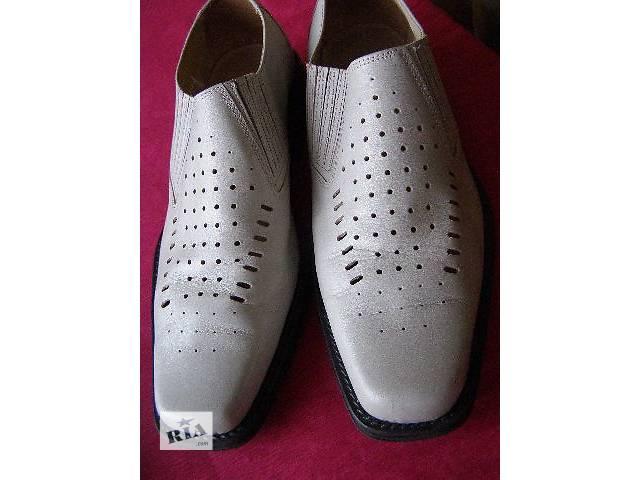 купить бу Качественные кожаные мужские туфли. в Ромнах