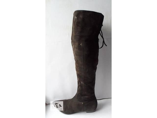 продам Качественные замшевые ботфорты от tamaris.размер 41 бу в Калуше