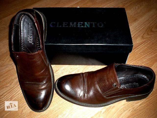 продам Качественные туфли Clemento, натуральная кожа бу в Гнивани