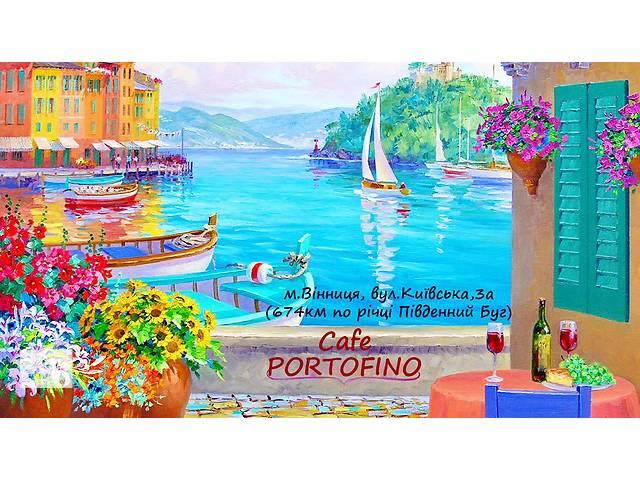 "продам Кафе ""Портофино"" Винница. Кафе на воде. бу  в Украине"