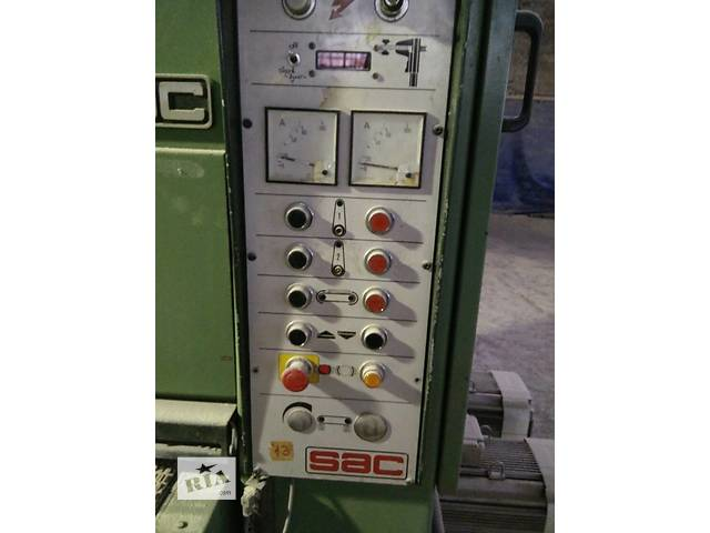 бу Калибровально-шлифовальный станок итальянской фирмы SAC в Виннице