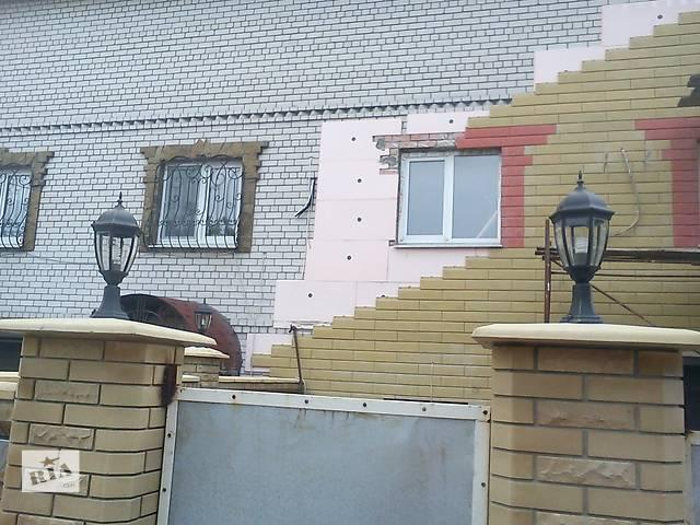 купить бу Акция зимой на Сайдинг каменный фасадный Донрок для утепления и облицовки фасада в Донецке