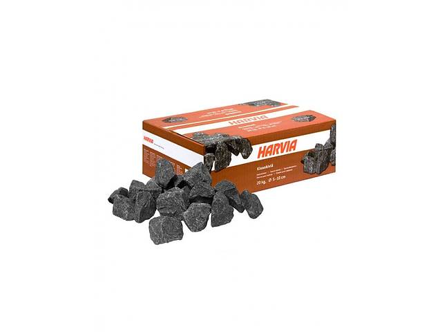 купить бу Камни для сауны и бани HARVIA (Финляндия), 20 кг в упаковке в Киеве