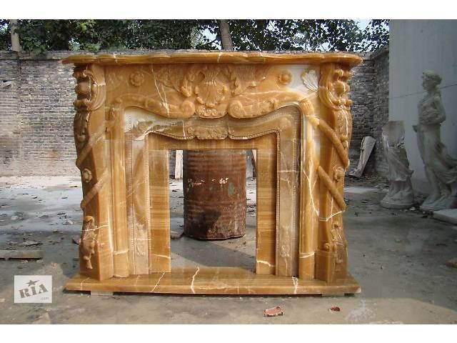 продам Каминные порталы из оникса (полудрагоценный камень) бу в Киеве
