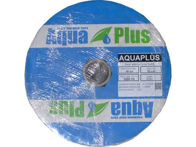 купить бу Капельная лента со щелевидным эмиттером Aqua Plus в Харькове