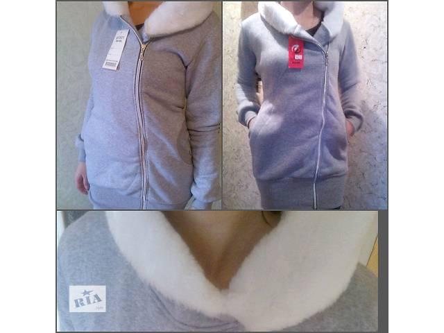 купить бу Кардиган (куртка, длинная кофта) теплый, размер 46, в Донецке в наличии в Донецке