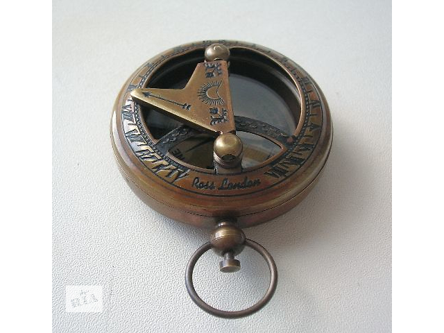 бу Карманный компас с солнечными часами Ross London Новый в Киеве