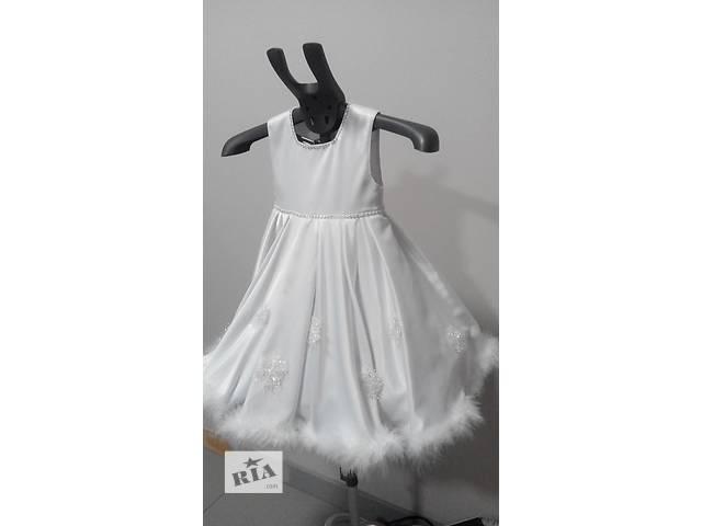 продам Карнавальный костюм Снежинка, ангел, Зима бу в Львове