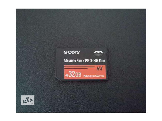 бу Карта памяти Sony Memory Stick Pro-HG Duo 32Gb (MS-HX32A) в Днепре (Днепропетровск)