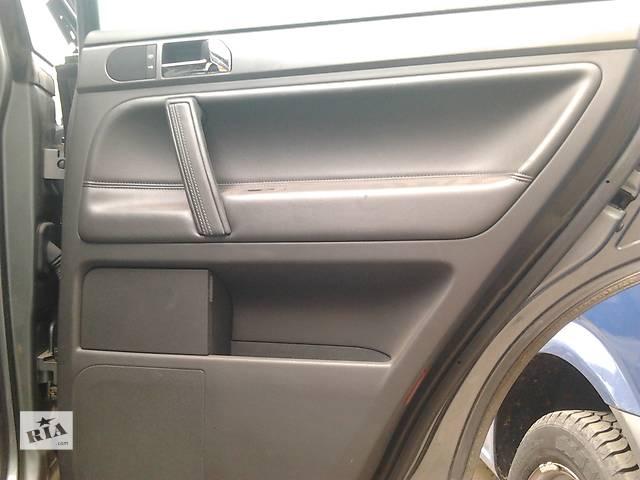 купить бу  Карта правой задней двери Volkswagen Touareg Фольксваген Туарег 2003г-2009г. в Ровно