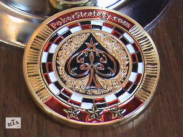 Карточная монета покер золотая фишка- объявление о продаже  в Нетешине