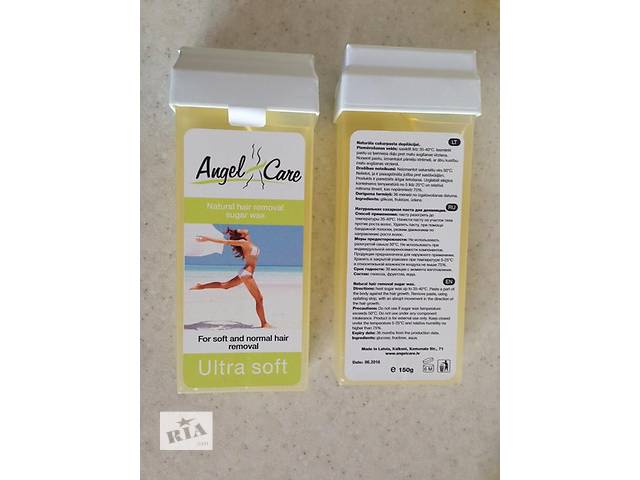 купить бу Картриджи с сахарной пастой для депиляции (шугаринг) Angel Care (Латвия)   в Украине