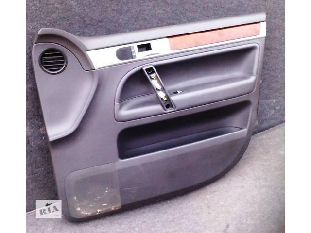 купить бу Карты дверей Volkswagen Touareg Фольксваген Туарег 2003г-2009г в Ровно
