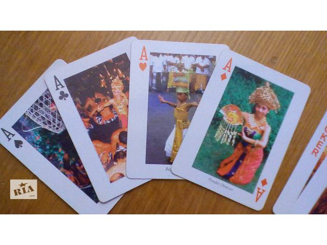 продам Карты игральные Бали 54 шт. бу в Днепре (Днепропетровск)