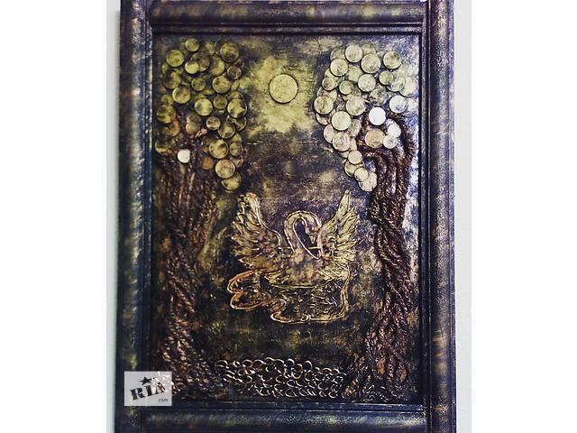 бу Картина денежное дерево Лебедь в Херсоне