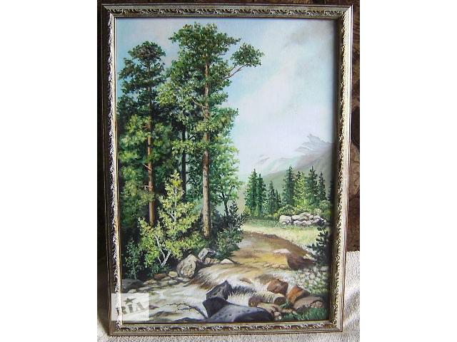 """продам Картина """"Горная речка"""" бу в Ватутино"""