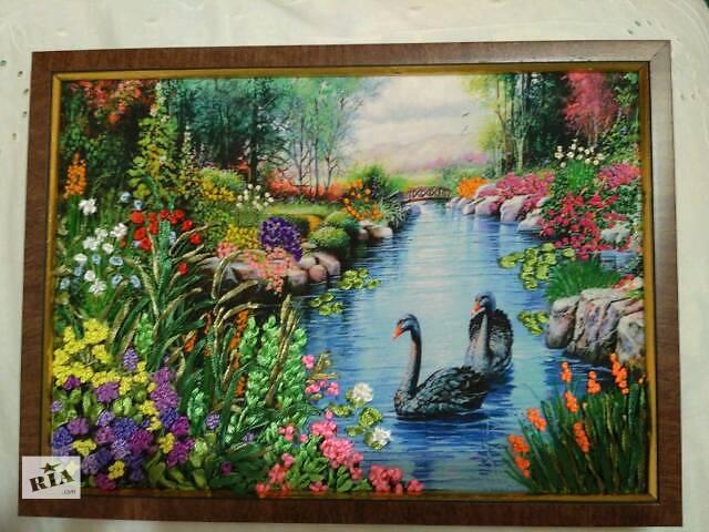 картина Лебединое озеро- объявление о продаже  в Харькове
