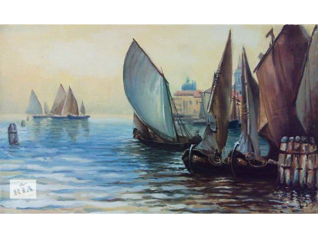 продам Картина маслом «На рейде» бу в Харькове