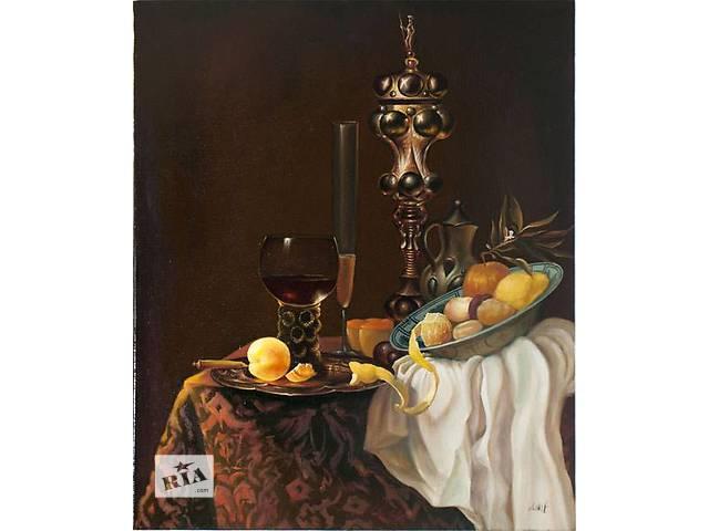 """продам Картина маслос """"Десерт"""" 50х60 см. Холст, масло. бу в Хмельницком"""