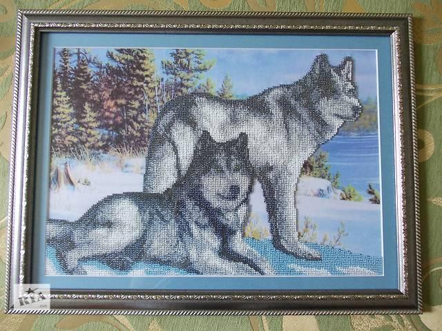 """купить бу Картина """"Волки"""" в Белой Церкви"""