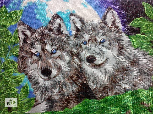 бу Картина вышитая бисером в Запорожье
