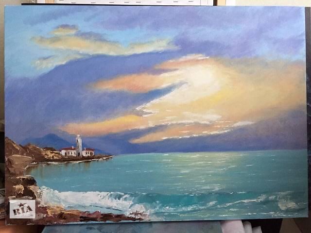 продам Картина Закат на море бу в Киеве