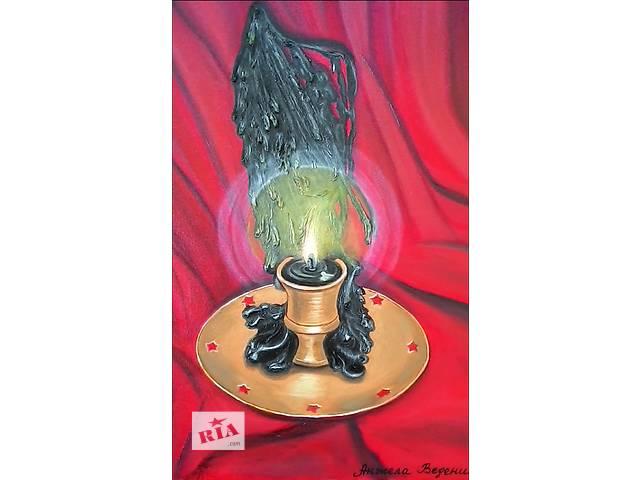 продам картина маслом Крыло ангела бу в Киеве