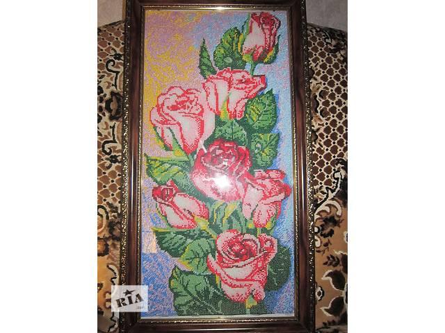 купить бу картины бисером в Ромнах