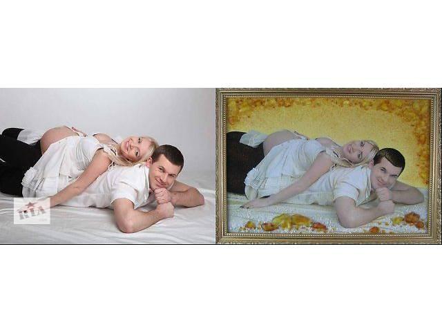 Картины из янтаря (портреты)- объявление о продаже  в Киеве