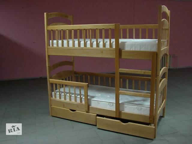 продам  Карина Люкс Стандарт - двухъярусная кровать трансформер в наличии с ящиками бу в Днепре (Днепропетровске)