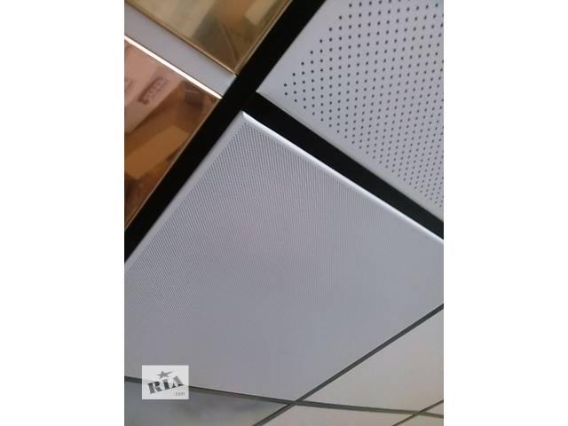 бу Кассетные потолки, металлические плиты для подвесного потолка. в Киеве