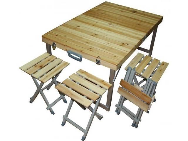 Раскладные стол и стулья для пикника своими руками